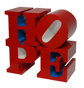 hope (red/blue/white) by robert indiana