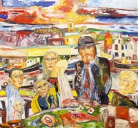 sunset song by john bellany