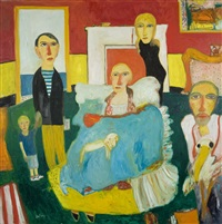 the family gathering by john bellany