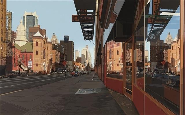 Holland Hotel By Richard Estes On Artnet