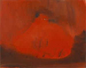 face into dark by leiko ikemura