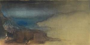 on the shore by leiko ikemura