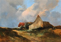 a rustic landscape by antoine vollon