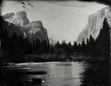valley view yosemite by ian ruhter