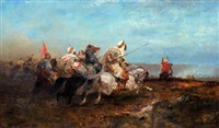 the charge by adolf schreyer