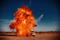 explosion (silver shadow) by tyler shields