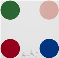 cupric bromide by damien hirst