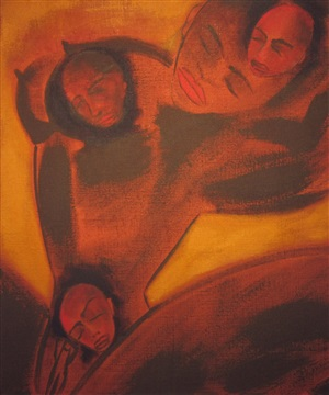 lover by francesco clemente