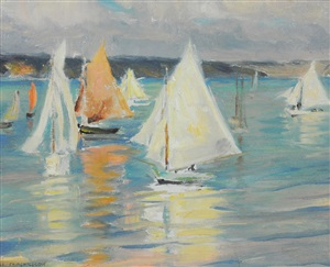 day for sailing by mary fairchild macmonnies low