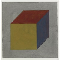 untiteld (cube) by sol lewitt
