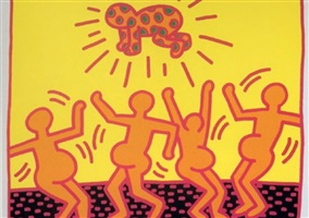fertility #1 by keith haring