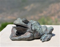 frog from andrea's fountain, ghirardelli square, san francisco by ruth asawa