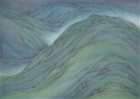 hill greenness (spring mountain) by kan tai-keung