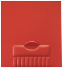 rosso (red) by agostino bonalumi