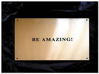 be amazing! by sylvie fleury