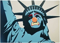 statue of liberty by d*face