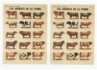 les animaux de la ferme (the farm animals) by marcel broodthaers