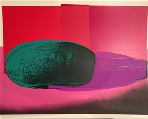 space fruit, still lifes (watermelon) (f & s s ii.199) by andy warhol