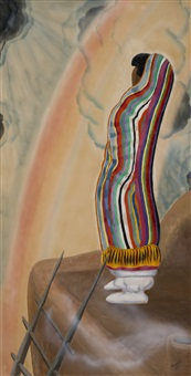 rainbow woman by dorothy eugenie brett