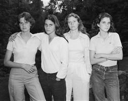 the brown sisters, new canaan, connecticut by nicholas nixon
