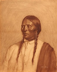 blackfoot indian chief by joseph henry sharp