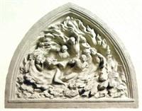 ex nihilo (maquette) by frederick hart