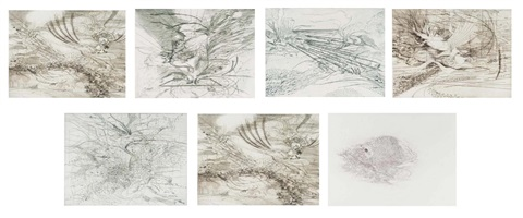 landscape allegories by julie mehretu