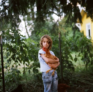 olivia with chicken by anna mia davidson
