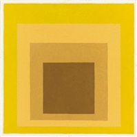 study for homage to the square: astounded by josef albers