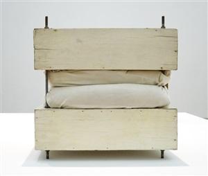 small pillow piece by gary kuehn