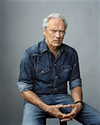 clint eastwood. burbank by martin schoeller