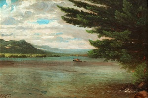 lake george by nelson augustus moore