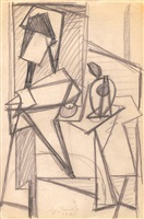 untitled (jrfa 4359) by arshile gorky