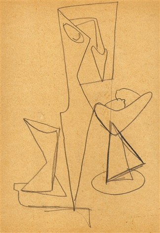 untitled (jrfa 4375) by arshile gorky