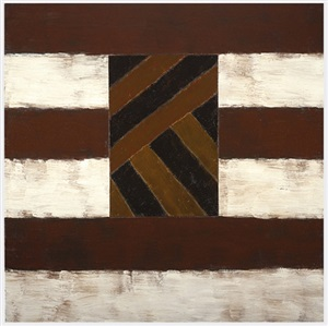 battered earth by sean scully