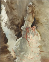 the leading lady by william russell flint