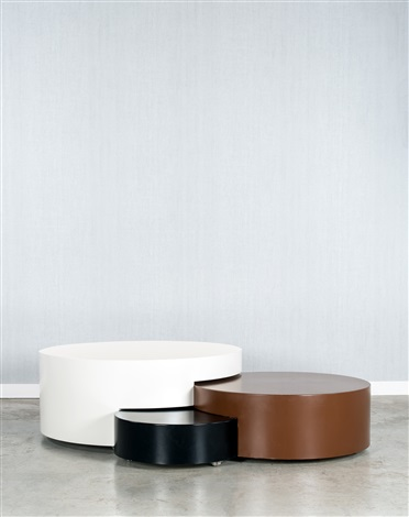 table basse modulable soeurs adjustable low table soeurs by maria pergay. Black Bedroom Furniture Sets. Home Design Ideas