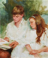 dillon and rachel (sold) by kathy anderson