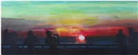 promenade sunset sylt by rainer fetting