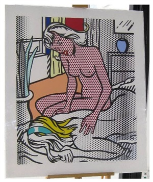 two nudes (from the nudes series) by roy lichtenstein