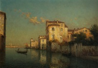 late afternoon, venice by antoine bouvard