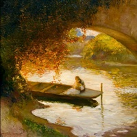 sous l'arche by gaston la touche
