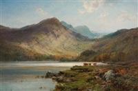 benmore, scotland by alfred de breanski sr