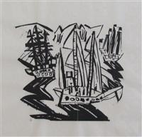 ships by lyonel feininger