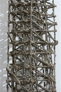 statue (detail) by stephen talasnik