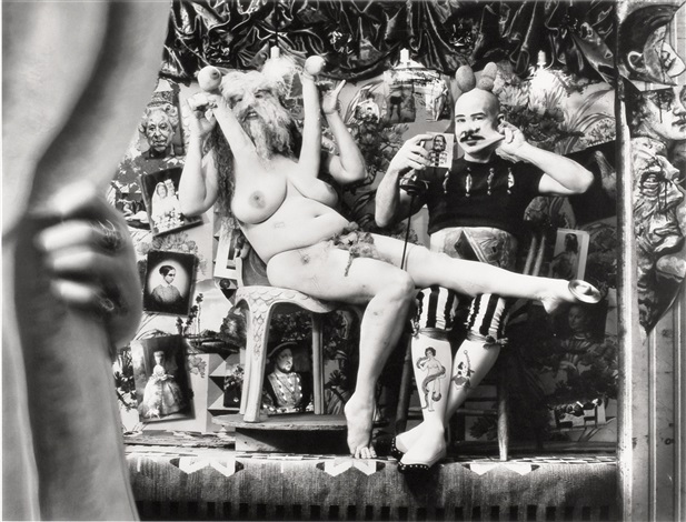 performers (jrfa 10671) by joel-peter witkin