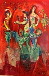 carmen by marc chagall