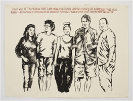 no title (that will let) by raymond pettibon