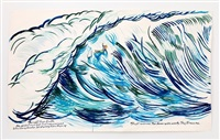 no title (for all their) by raymond pettibon