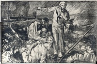 united states appeal, humanity calls 1914-1918 by sir frank brangwyn